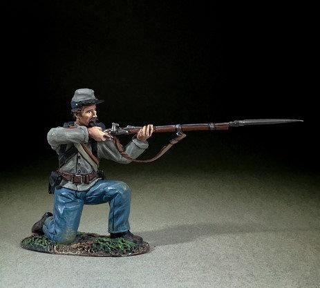 31341 - Confederate Infantry Kneeling Firing, No.2
