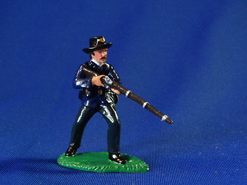CORD-T099-Union at the Ready - ACW - Trophy - 54mm Metal - Glossy - No Box