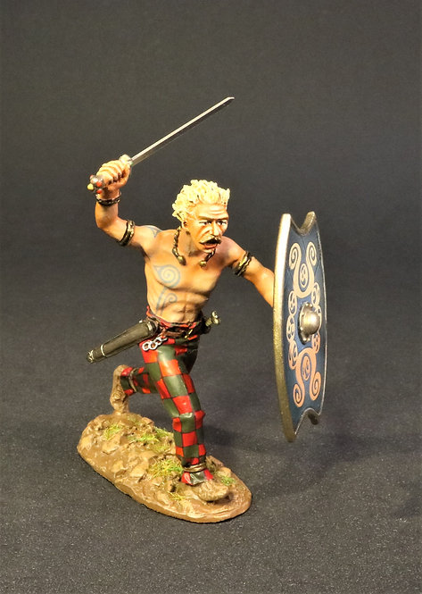 IC-08B - Iceni Warrior, Charging - Armies and Enemies of Ancient Rome