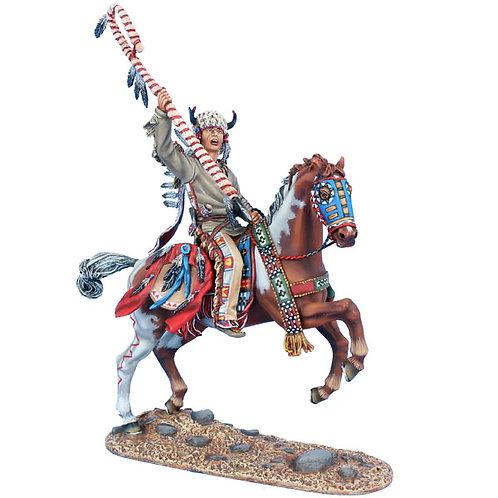 WW019 - Mounted Cheyenne Indian Chief