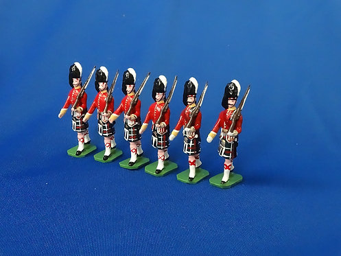 COMS-47 - Seaforth Highlanders 1905, 6 Marching - 6 Figures