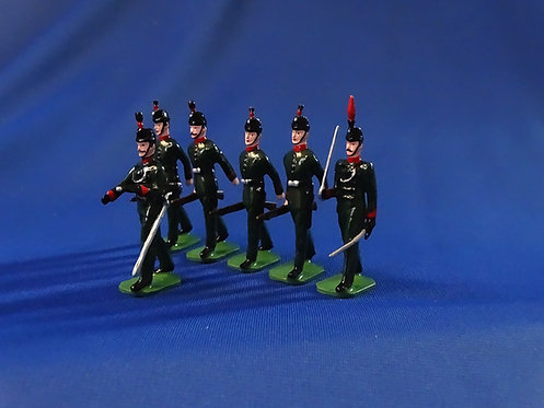 COMS-49 - King's Royal Rifle Corps 1908 - 6 Marching