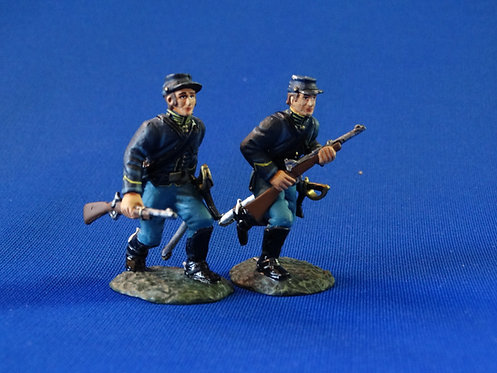 CORD-1155 - Union Dismounted Cavalry Advancing - 2 Figures  - ACW - Frontline