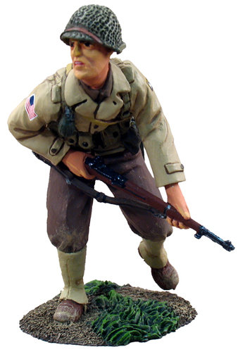 25002 - U.S. 101st Airborne, Glider Infantry Regiment, Advancing No.1