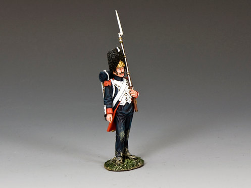 NA403 - 'Old Guard' Shoulder Arms (w/musket on the left arm)