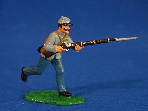 TY012 - Confederate Advancing - ACW - Trophy - 54mm Metal - No Box
