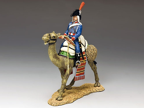 NE030 - Camel Cavalier with Rifle Across