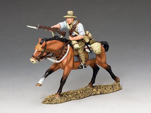 AL075 - Mounted Kiwi Charging with  Rifle #2