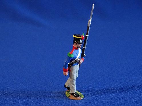 CORD-AL286 - Mexican Grenadier Marching - Alamo - Helena - 54mm Metal