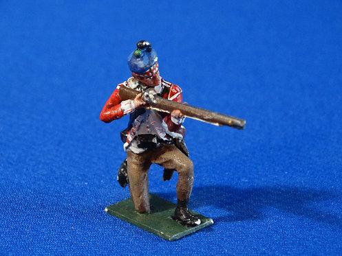CORD-RA0463 - British 71st Highlander Kneeling Firing - AWI - Fusilier -