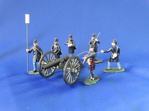CORD-3179 - Union 3-inch Ordinance Rifle and 6 Crew - ACW -Soldiers of the World