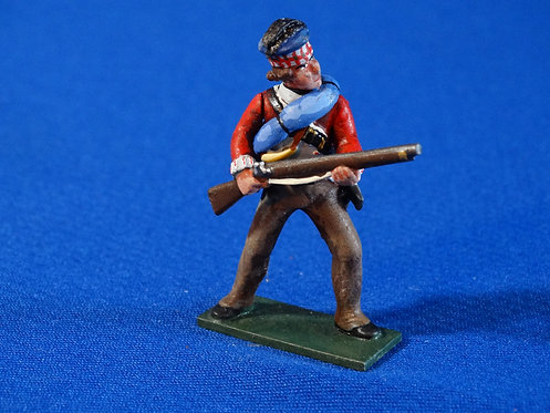 CORD-RA0456 - British 71st Highlander at the Ready - AWI - Soldiers of the World