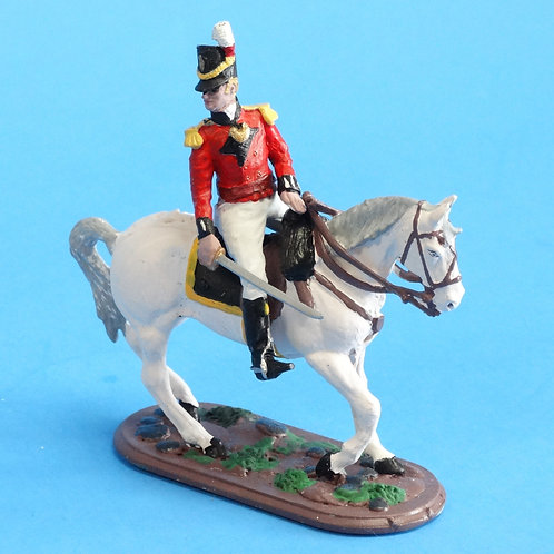 CORD-N1009 British Officer - Mounted - Napoleonics - Unknown Manufacturer - 54mm
