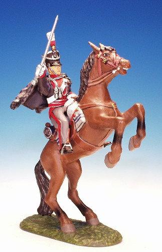 23LD.6. - Officer on Rearing Horse, 23rd Light Dragoons