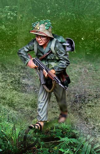 CS01010 - Viet Cong Advancing