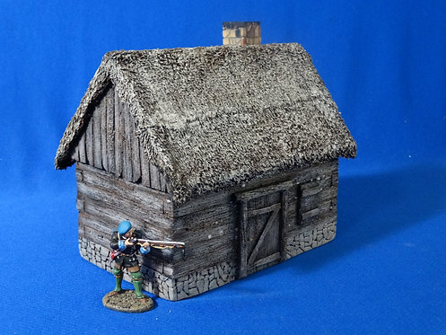 VD-025 - Cabin - 60mm Scale - Foam Construction - Volk Designs