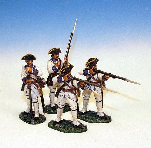 IFW.1. - 2 Standing Firing, 2 Loading, Roussillon Royal Regiment