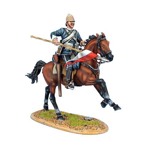 ZUL032 - British 17th Lancers Trooper #1