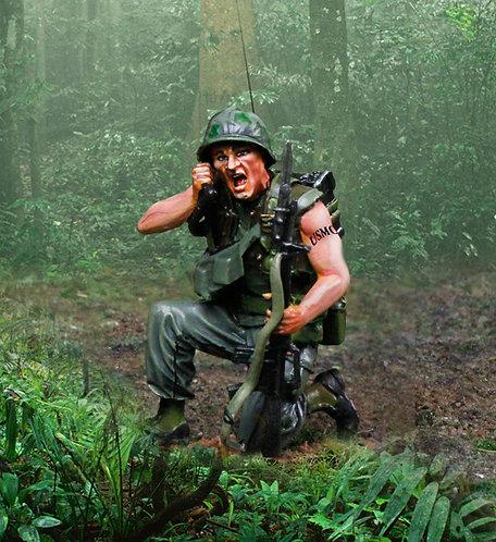 CS00947 - US Marine Vietnam PRC 77 Man