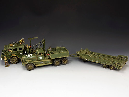 DD318-S01 - Diamond T with DD104(SL) M26 Recovery Vehicle