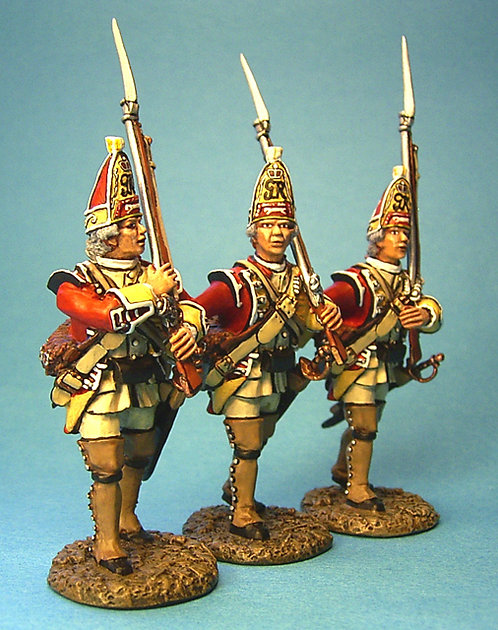 BM-04 -44th Regiment of Foot, British Grenadiers Marching