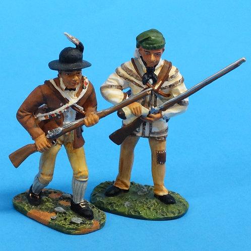 CORD-RA0016 - Morgan's Rifle Corps - Revolutionary War - Britains (Set 17449)