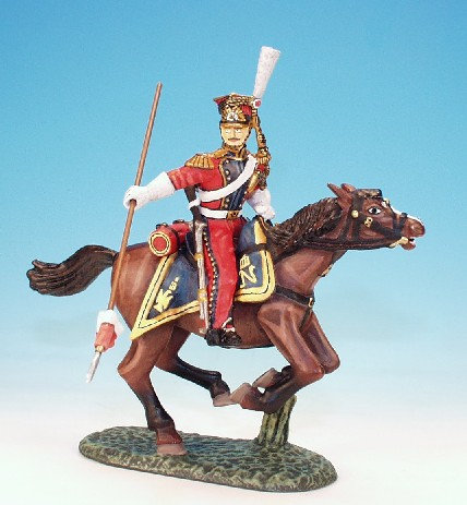 RL.3. - Trooper Following Through with Lance, Dutch Red Lancers