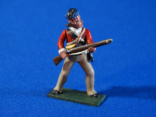 CORD-RA0458 - British 71st Highlander at the Ready - AWI - Soldiers of t