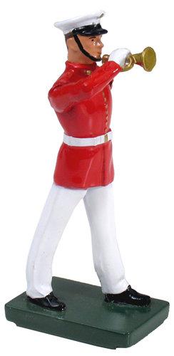 48506 - USMC Bugler, Commandant's Own, Red Tunic
