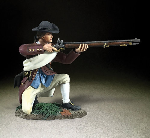 16071 - Colonial Militia Kneeling Firing No.3