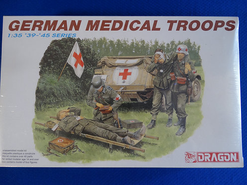 COJG-205 - German Medical Troops - German WWII - Dragon 1/35 - Plastic Kit