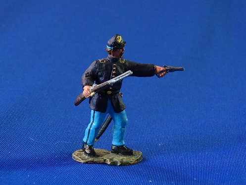 CORD-0471 - Union Infantry Officer - Unknown Manufacturer - ACW - 54mm Metal