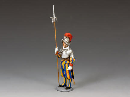CE018 - Swiss Guardsman Standing-at-Ease