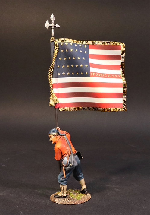 11NY-10 - National Colours, 11th Regiment NY Volunteer Infantry