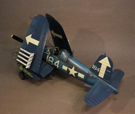 BH-03(184) - Vought F4U-1D Corsair, Lt. Willis G. Laney