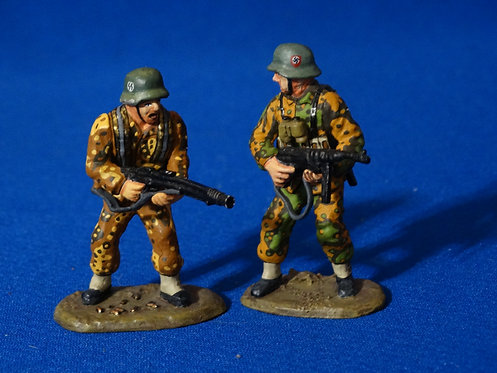 MI-973 - Waffen Sentry and Box (WS029) - WWII  - King and Country - 60 m