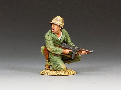 USMC013 - Marine Officer with Tommy Gun