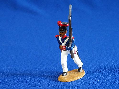CORD-AL017-Mexican Grenadiers Advancing - Alamo - Unknown Manufacturer - 54mm