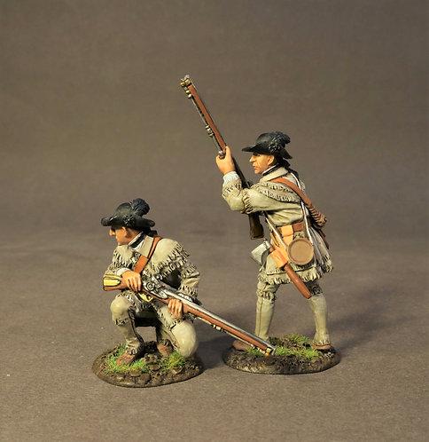SMG-05A - 2 Riflemen Skirmishing, Morgan's Rifles