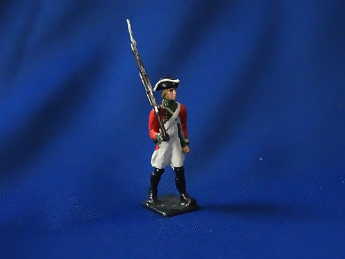 CORD-RA0123 - British Trooper Marching - AWI - Unknown Manufacturer - 54mm Metal