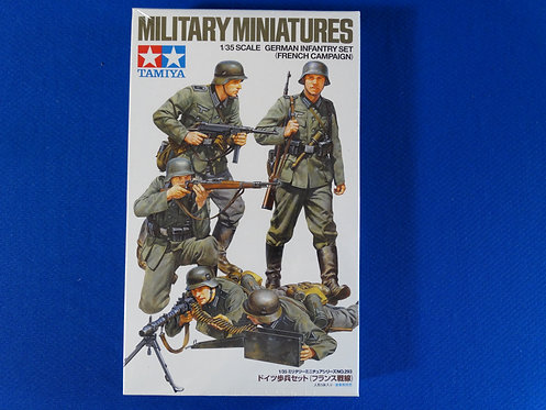 COJG-178 - German Infantry Set (French Campaign) - German WWII - Tamiya 1/35