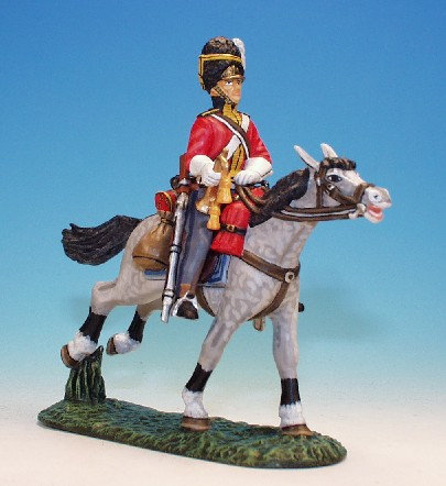 SGS.5. - Trumpeter Carrying Trumpet, Scots Greys