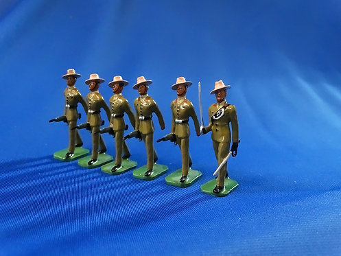COMS-52 - 2nd King Edward VII's Own Gurkha Rifles, 1 Officer, 5 Other Ranks