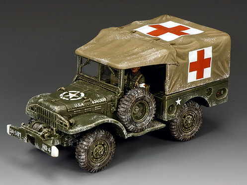BBA080 - DODGE WC51 Weapons Carrier (Winter Ambulance)