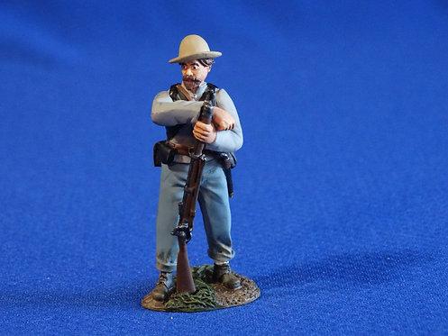 CORD-0978 - Confederate Resting - ACW - Britains - 60mm Metal - No Box