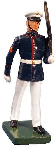 48510 - USMC Marching, Summer Dress, Left Shoulder