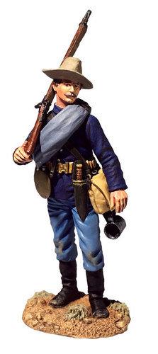 32001 - U.S. Infantry on Campaign, 1880s No.1