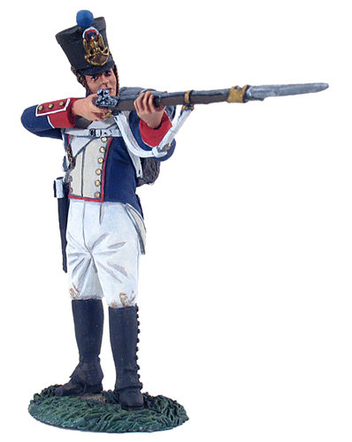 36042 - French Line Infantry Fusilier Standing Firing No.2