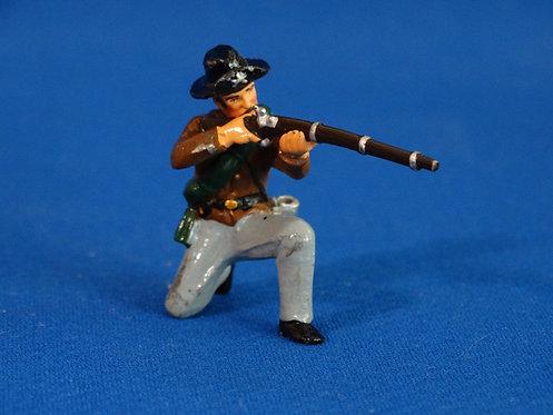 TY009 - Confederate Kneeling Firing - ACW - Trophy - 54mm Metal - No Box