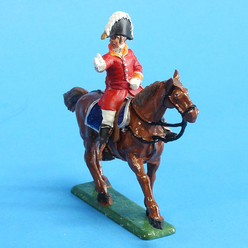 CORD-N1013 British Officer - Mounted - Napoleonics - Unknown Manufacturer - 54mm